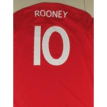 Inglaterra Visita #10 Rooney Umbro Talla M Envio Gratis 2010