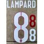 Inglaterra Estampado Mundial Brasil 2014 Visita Lampard