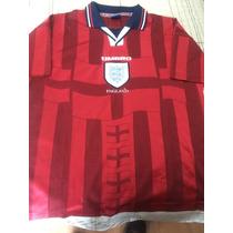 Historico Jersey Inglaterra 1997-1999 Visita