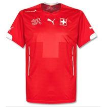 Jersey Puma Suiza Local Mundial Brasil 2014 Original C/num