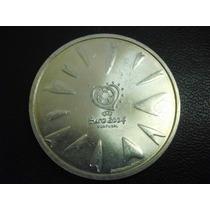 Portugal 8 Euros Uefa Futbol 2004 Plata Ley 0.800