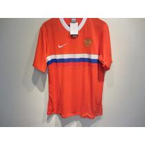 Jersey Nike Rusia Local Large Nuevo Rojo Rara