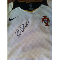 Jersey Autografiado Cristiano Ronaldo Portugal Real Madrid