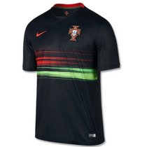 Jersey Nike Portugal Visita Euro 2015-16 Ronaldo Original