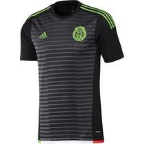 Jersey Adidas Seleccion Mexicana D Futbol 2015 De Visitante