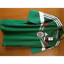 Jersey Selección Mexicana Tall M Nuevo Original Marti Adidas