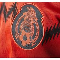 Jersey Rojo Mexico-original-nuevo-climacool-playera-visita