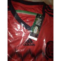 Jersey De Selección Mexicana 2014 Rojo