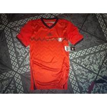 Mexico Centroamericanos De Juego Roja Adidas