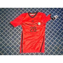 Mexico Camisa De Juegos Centroamericanos 2014