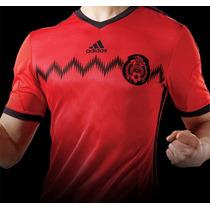 Jersey Seleccion Mexicana Adidas Visita 2014 Envio Gratis