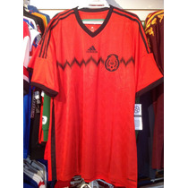 Playera Adidas De Mexico Mundial 2014 Talla Xl