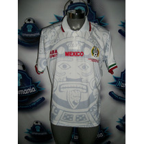 Jersey Selección Méxicana Aba Sport Mexico Visita Mundial 98