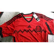 Jersey Mexico Rojo 2014 / Visitante