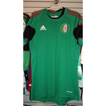 Playera Adidas Seleccion Mexicana De Entrenamiento Talla M