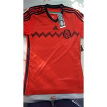 Jersey Seleccion De Mexico Roja
