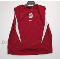 Jersey Nike/ Mexico Entrenamiento Roja/ De Epoca !!