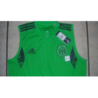 Playera Sin Mangas Adidas Seleccion Mexicana 100% Original