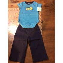 Cojuntos Para Bebes Niño Carters Pants Tallas 12 Meses 2 Pzs