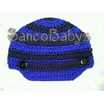 Hermosos Gorros Tejidos Crochet Estilo Gorra Cachucha