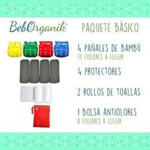 Paquete De Pañales Ecologicos 100% Organicos, Bambu
