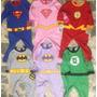 Mameluco Superman Batman Superhéroes Disfraz Varios Modelos