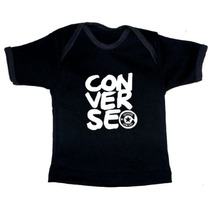Ropa De Bebe Alternativa - Playeras Negras Rockeras
