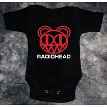 Pañalero Rock Radiohead Personalizado