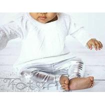 Leggings Metalicos Para Bebes Varios Colores Y Tallas