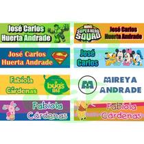 Etiquetas Personalizadas Escolares