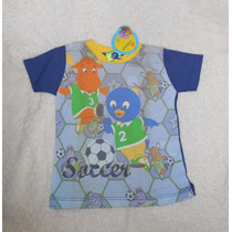 Nickelodeon Playera Futbol Backyardigans Pablo Tyrone 3 Años