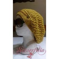 Hermosas Boinas Tejidas En Crochet, Niños Adultos