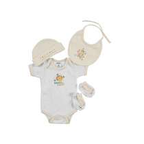 Kit Bebe Paseo De 0 De 3 M-almendra Ropa Bebe Baby Mink