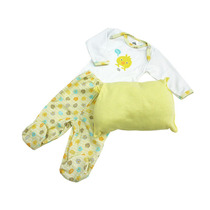 Ropa Bebe Pijamink Gitd-amarillo Ropa Bebe Baby Mink