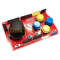 Joystick Analogico Shield Arduino Hc-05 Sg90 Rc522 Nokia5110