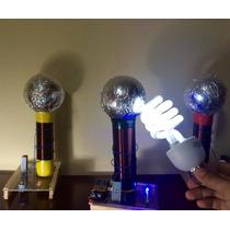 Bobina De Tesla Proyecto De Ciencias Electronica Sencilla 9v