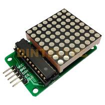 Matriz Led 8x8 Max7219 Usa Arduino Hc-05 Sg90 Rc522 L298 Pic