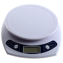 1g-7kg Kitchen Good Helper Electronic Weight Scale White