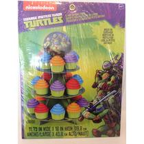 Base Para Cupcakes De Tortugas Ninja Marca Wilton