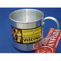 Aluminio Vaso 9 Cms. Esp. Mod.: 10626 Mrc.: Vasconia