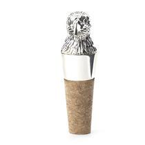 Tapon Para Botella De Vino Diseño Águila Metálico Con Corcho