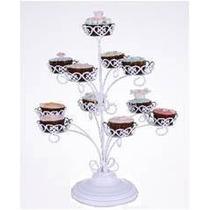 Base Para Cupcakes Metálica Estilo