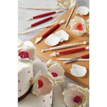 10 Piezas Fondant Y Pasta De Goma Tool Kit Decoración, Surti