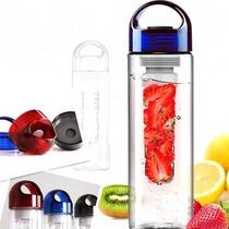 Cilindro Infusor Para Agua Con Frutas Naturales Azul