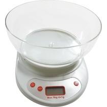 Bascula Multiusos Digital Con Tazon Incluido 5kg