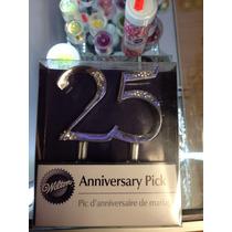 Decoracion Para 25 Aniversario Marca Wilton