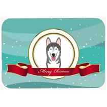 Malamute De Alaska Feliz Navidad De Vidrio Tabla De Cortar G