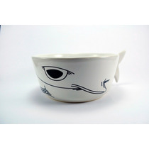 Botanero En Forma De Tiburon De Cerámica Diseño Original
