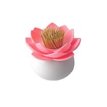 Palillero En Forma De Flor De Loto Nuevo Mondadientes