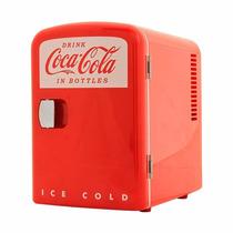 Mini Refrigerador Koolatron Coca-cola 6 Latas Envío Gratis